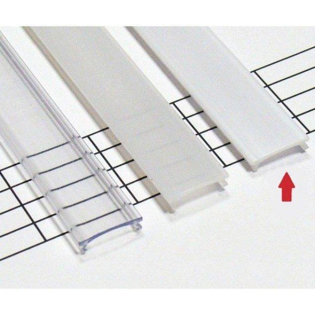 LEDLabs Mléčný difuzor KLIK pro profily LUMINES A/B/C/D/G/H/Z/Y 3m